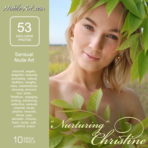 Christine - `Nurturing` - for NUBILE-ART