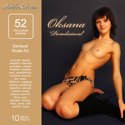 Oksana - `Paradisiacal` - for NUBILE-ART