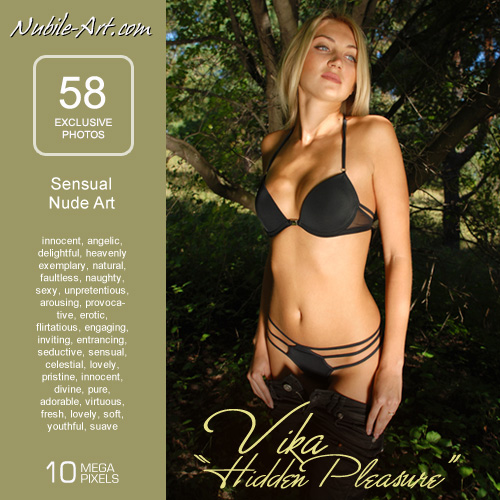 Vika - `Hidden Pleasure` - for NUBILE-ART