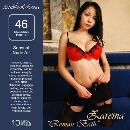 Zarema - `Roman Bath` - for NUBILE-ART
