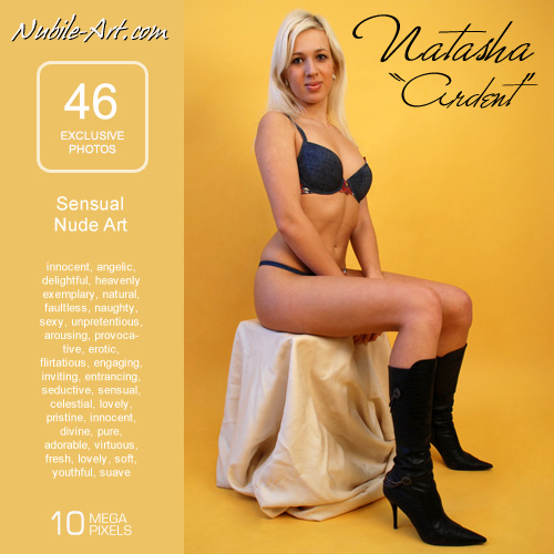 Natasha - `Ardent` - for NUBILE-ART