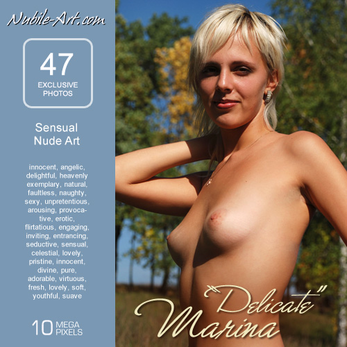 Marina - `Delicate` - for NUBILE-ART