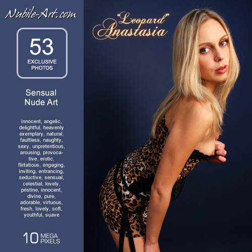 Anastasia - `Leopard` - for NUBILE-ART