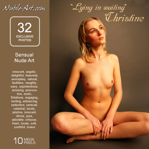 Christine - `Lying in Wait` - for NUBILE-ART