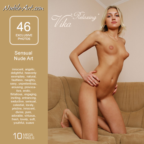 Vika - `Relaxing` - for NUBILE-ART