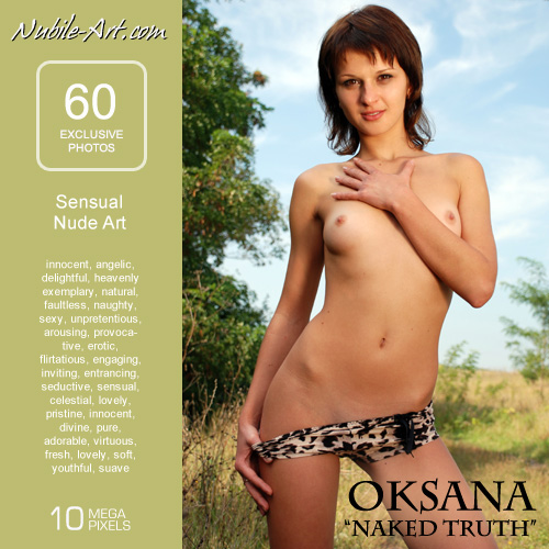 Oksana - `Naked Truth` - for NUBILE-ART