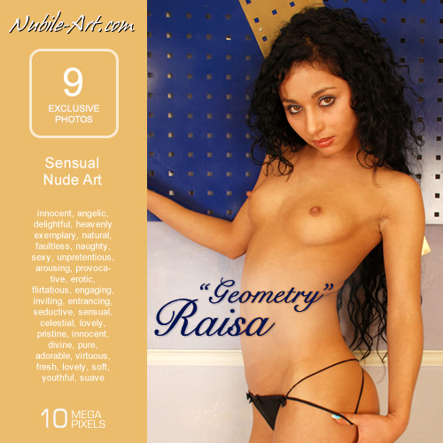 Raisa - `Geometry` - for NUBILE-ART
