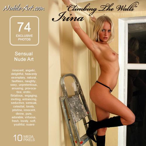 Irina - `Climbing the Walls` - for NUBILE-ART