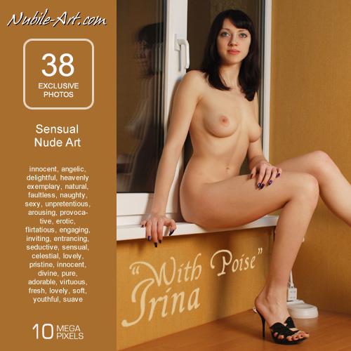 Irina - `With Poise` - for NUBILE-ART
