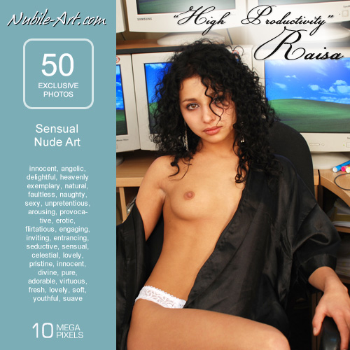 Raisa - `High Productivity` - for NUBILE-ART