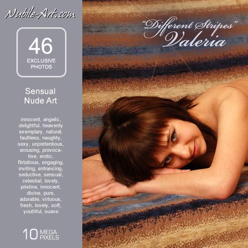 Valeria - `Different Stipes` - for NUBILE-ART