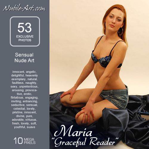Maria - `Graceful Reader` - for NUBILE-ART