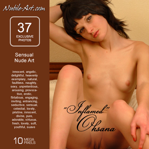 Oksana - `Inflamed` - for NUBILE-ART