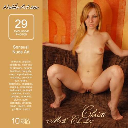 Christi - `Milk Chocolate` - for NUBILE-ART