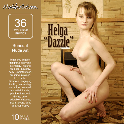 Helga - `Dazzle` - for NUBILE-ART
