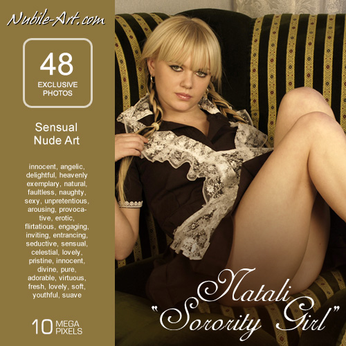 Natali - `Sorority Girl` - for NUBILE-ART