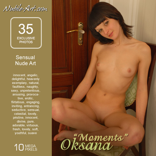 Oksana - `Moments` - for NUBILE-ART