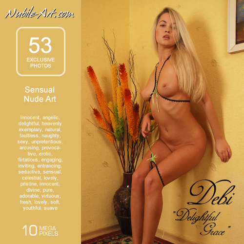 Debi - `Delightful Grace` - for NUBILE-ART