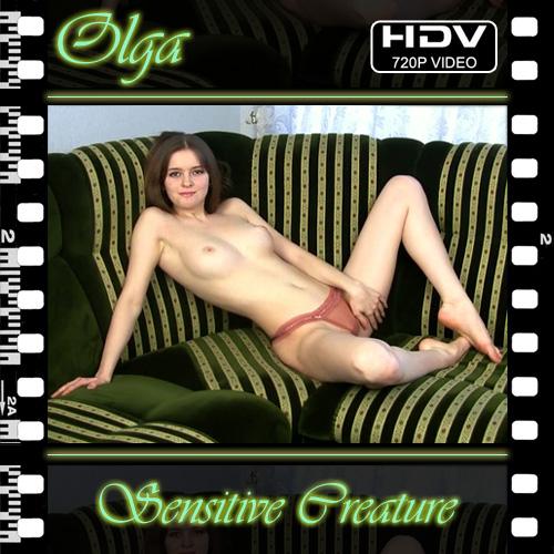 Olga - `Sensitive Creature` - for NUBILE-ART