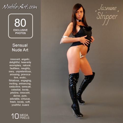 Jasmine - `Stripper` - for NUBILE-ART