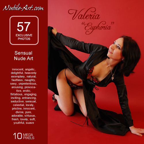Valeria - `Euphoria` - for NUBILE-ART