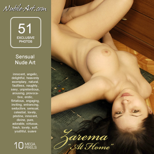 Zarema - `At Home` - for NUBILE-ART