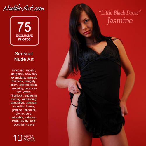 Jasmine - `Little Black Dress` - for NUBILE-ART