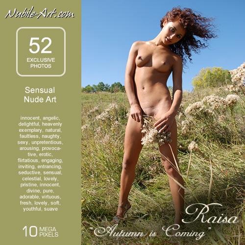 Raisa - `Autumn is Coming` - for NUBILE-ART