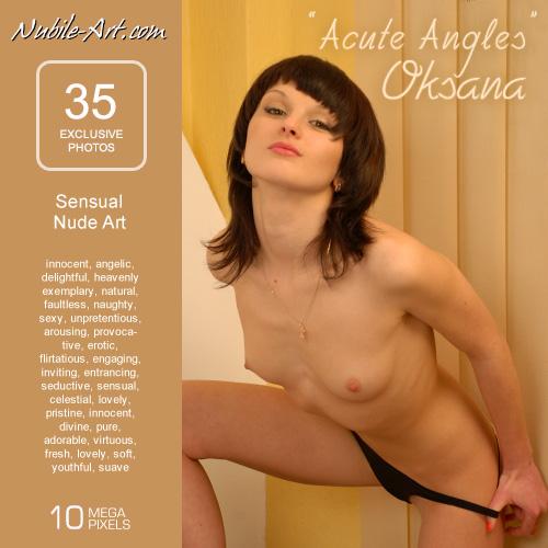 Oksana - `Acute Angles` - for NUBILE-ART