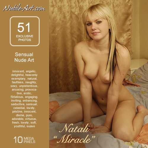 Natali - `Miracle` - for NUBILE-ART