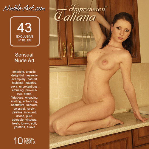 Tatiana - `Impression` - for NUBILE-ART