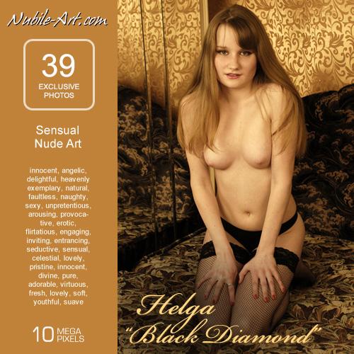 Helga - `Black Diamond` - for NUBILE-ART