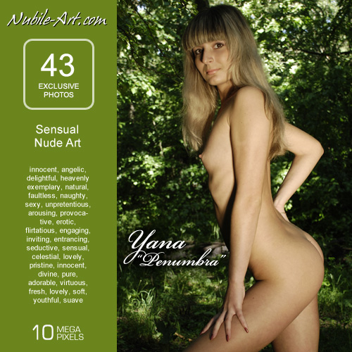 Yana - `Penumbra` - for NUBILE-ART