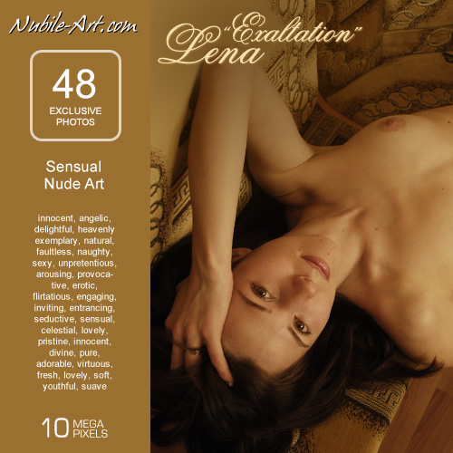 Lena - `Exaltation` - for NUBILE-ART
