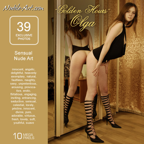 Olga - `Golden Hours` - for NUBILE-ART