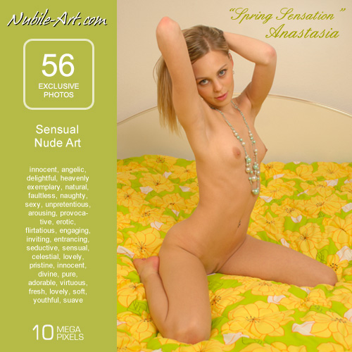 Anastasia - `Spring Sensation` - for NUBILE-ART