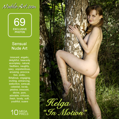 Helga - `In Motion` - for NUBILE-ART