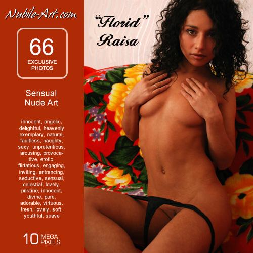 Raisa - `Florid` - for NUBILE-ART