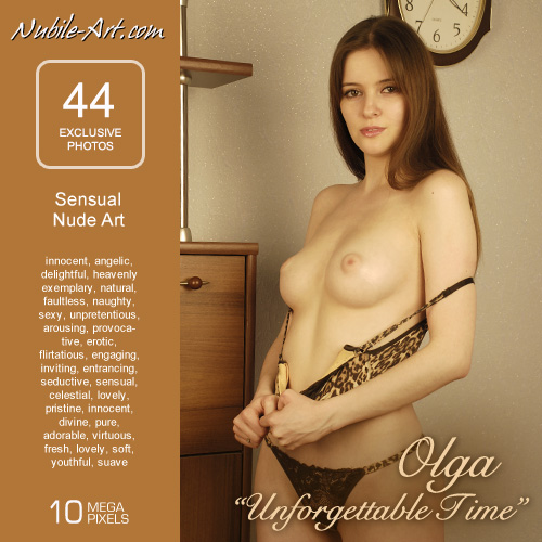 Olga - `Unforgettable Time` - for NUBILE-ART