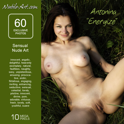 Antonina - `Energize` - for NUBILE-ART