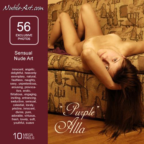 Alla - `Purple` - for NUBILE-ART