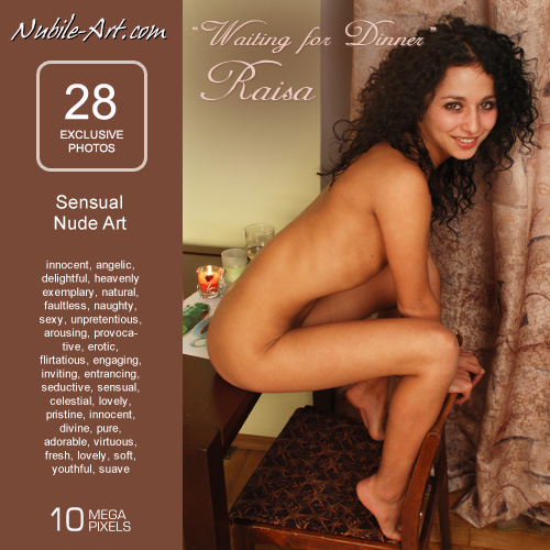 Raisa - `Waiting for Dinner` - for NUBILE-ART