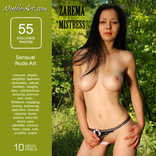 Zarema - `Mistress` - for NUBILE-ART