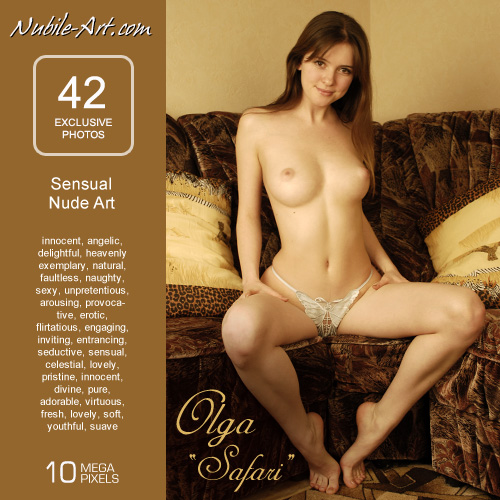 Olga - `Safari` - for NUBILE-ART