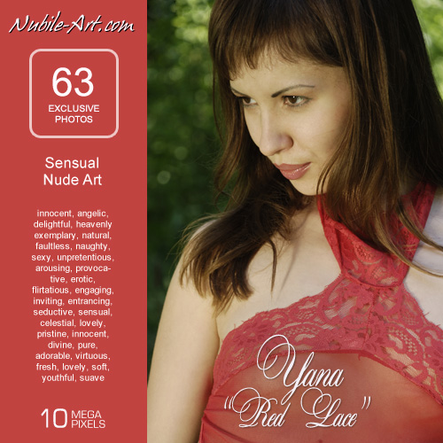 Yana - `Red Lace` - for NUBILE-ART