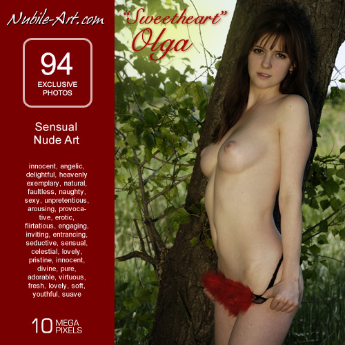 Olga - `Sweetheart` - for NUBILE-ART