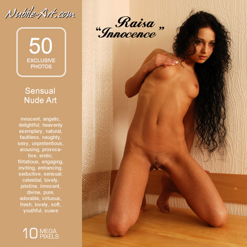 Raisa - `Innocence` - for NUBILE-ART