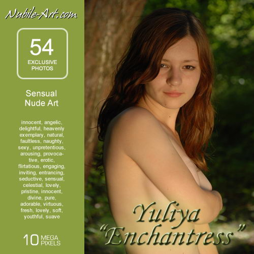 Yuliya - `Enchantress` - for NUBILE-ART