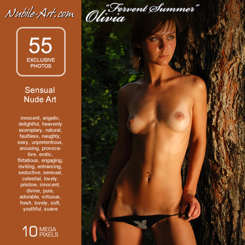 Olivia - `Fervent Summer` - for NUBILE-ART