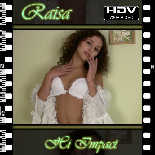 Raisa in Hi Impact video from NUBILE-ART